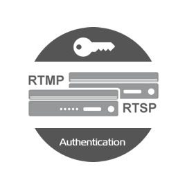 rtmp rtsp Stream Authentication
