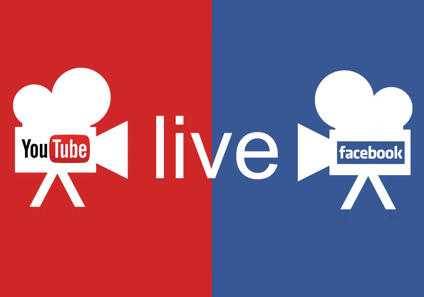 YouTube Facebook Live-Streaming