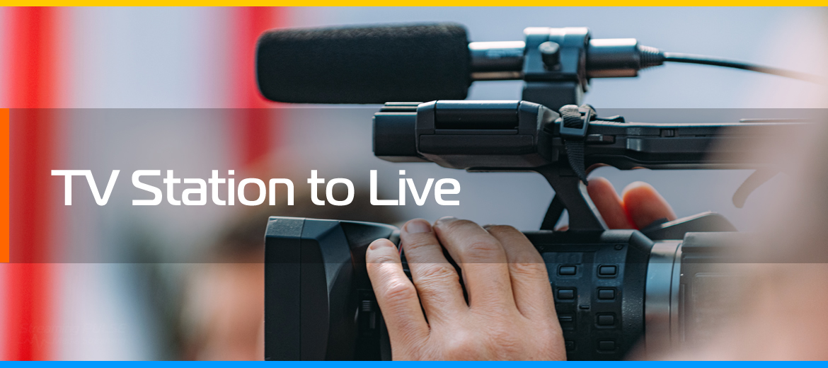 TV station to live service